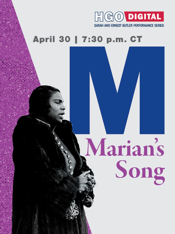 Marian's Song Program Cover Image